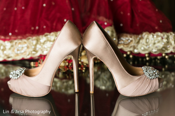Shoes in Yorba Linda, CA Indian Fusion Wedding by Lin & Jirsa Photography