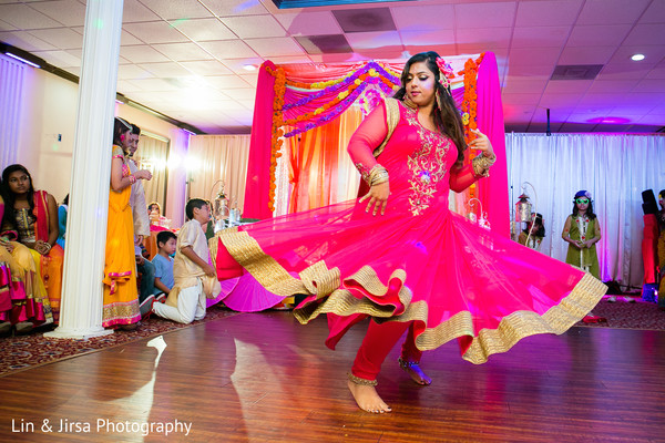 Gaye Holud in Yorba Linda, CA Indian Fusion Wedding by Lin & Jirsa Photography