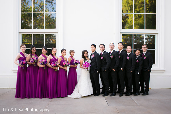 Portraits in Yorba Linda, CA Indian Fusion Wedding by Lin & Jirsa Photography