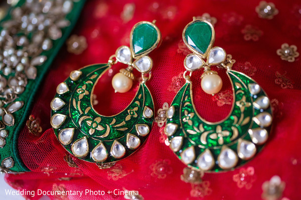 Bridal Jewelry in San Jose, CA Indian Wedding by Wedding Documentary Photo + Cinema