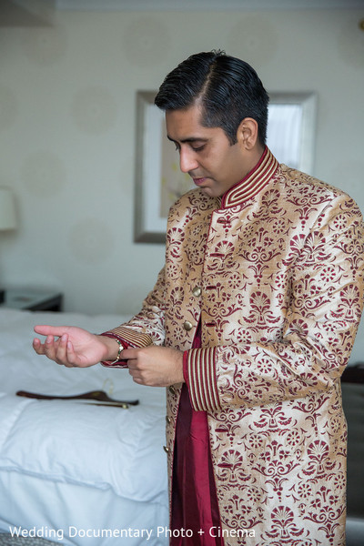 Getting Ready in San Jose, CA Indian Wedding by Wedding Documentary Photo + Cinema