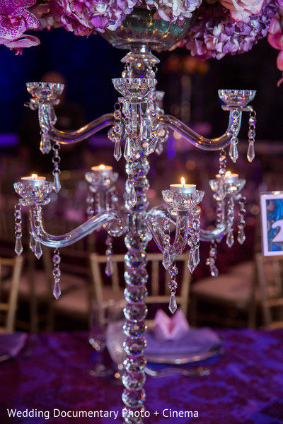 Reception Decor in San Jose, CA Indian Wedding by Wedding Documentary Photo + Cinema