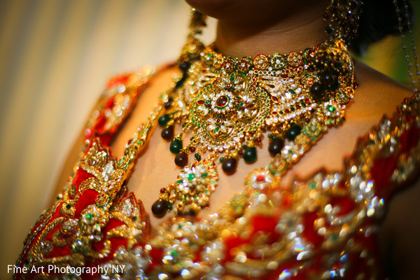Getting Ready in Brooklyn, NY Indian Wedding by Fine Art Photography