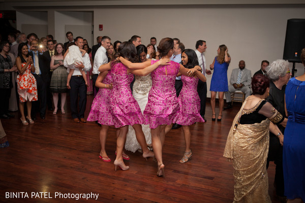 Reception in Boston, MA Jewish-Sikh Fusion Wedding by Binita Patel Photography