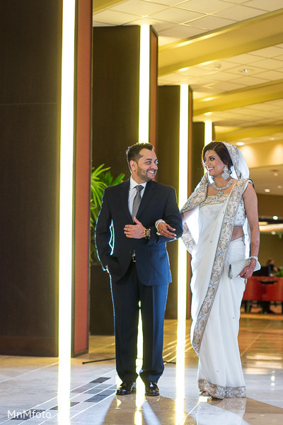 Portraits in Dallas, TX Fusion Indian Wedding by MnMfoto Wedding Photography
