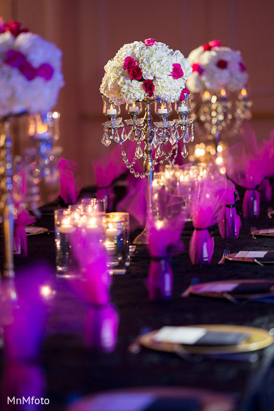 Reception Decor in Dallas, TX Fusion Indian Wedding by MnMfoto Wedding Photography