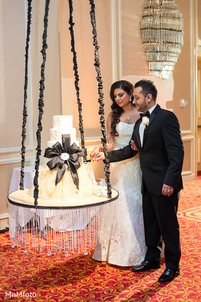 Reception in Dallas, TX Fusion Indian Wedding by MnMfoto Wedding Photography