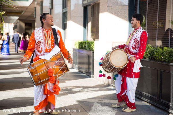 Baraat in San Jose, CA Indian Wedding by Wedding Documentary Photo + Cinema