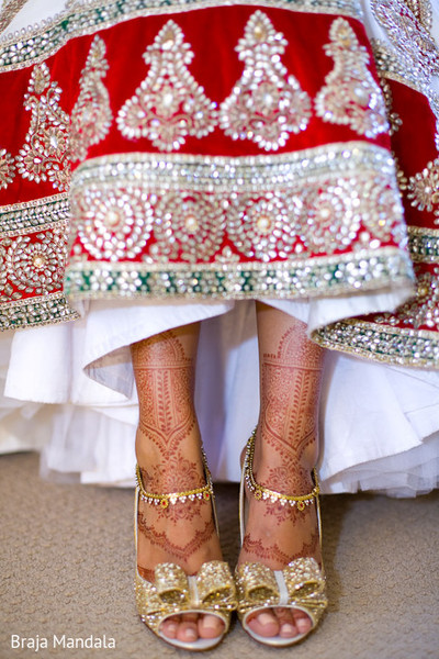 Mehndi in Long Beach, CA Indian Wedding by Braja Mandala Photography