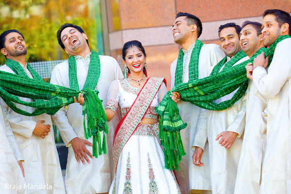indian groomsmen,indian wedding portrait