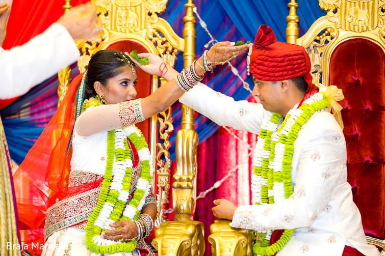 Newport Beach California Indian Wedding By Braja Mandala: Ceremony In Long Beach, CA Indian Wedding By Braja Mandala