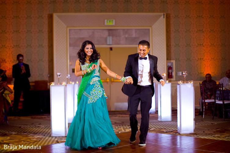 Newport Beach California Indian Wedding By Braja Mandala: Reception In Long Beach, CA Indian Wedding By Braja