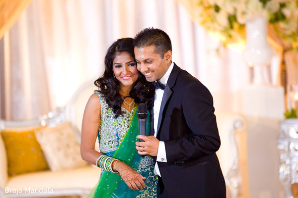 Reception in Long Beach, CA Indian Wedding by Braja Mandala Photography