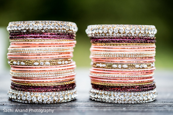 Bangles in Cherry Hill, NJ South Asian Wedding by Sachi Anand Photography