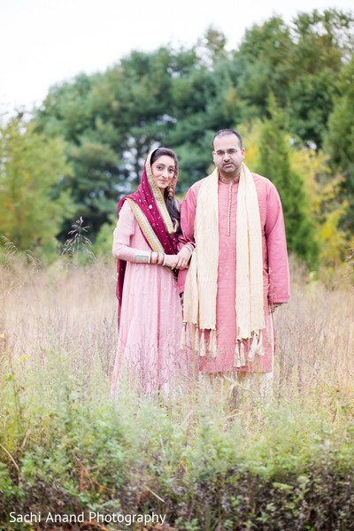 Nikkah Portrait in Cherry Hill, NJ South Asian Wedding by Sachi Anand Photography