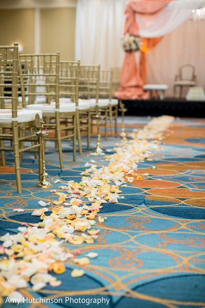 Floral & Decor in Memphis, TN Indian Wedding by Amy Hutchinson Photography