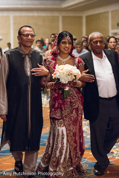 Ceremony in Memphis, TN Indian Wedding by Amy Hutchinson Photography