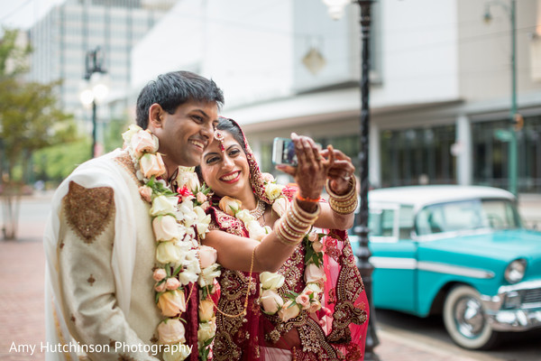 Wedding Portrait in Memphis, TN Indian Wedding by Amy Hutchinson Photography