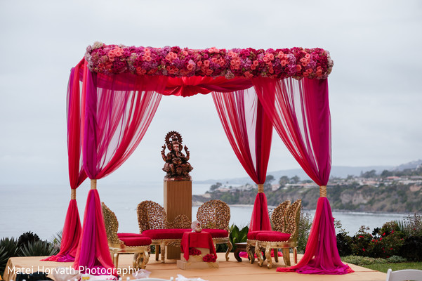 Ceremony in Laguna Niguel, CA Sikh-Hindu Wedding by Matei Horvath Photography