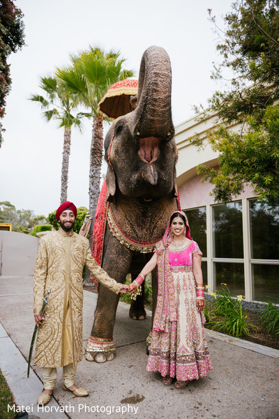 Portraits in Laguna Niguel, CA Sikh-Hindu Wedding by Matei Horvath Photography