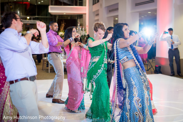 Reception in Memphis, TN Indian Wedding by Amy Hutchinson Photography