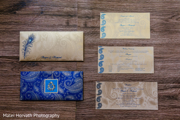 Stationery in Laguna Niguel, CA Sikh-Hindu Wedding by Matei Horvath Photography