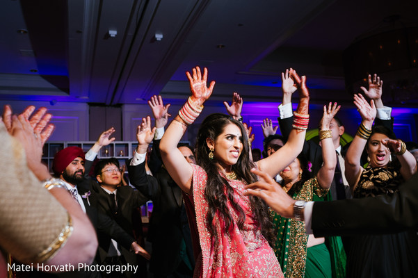 Reception in Laguna Niguel, CA Sikh-Hindu Wedding by Matei Horvath Photography