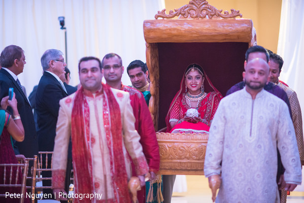 Ceremony in Atlanta, GA Indian Wedding by Peter Nguyen Photography
