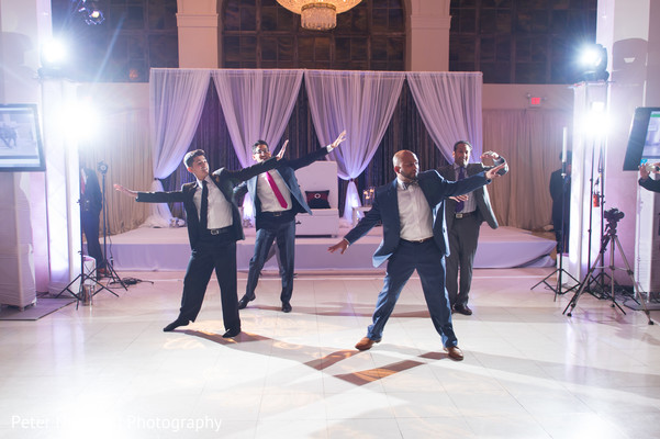 Reception in Atlanta, GA Indian Wedding by Peter Nguyen Photography