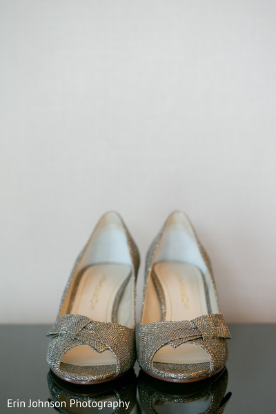 Shoes in Bloomington, MN Indian Fusion Wedding by Erin Johnson Photography
