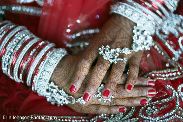 Getting Ready in Bloomington, MN Indian Fusion Wedding by Erin Johnson Photography