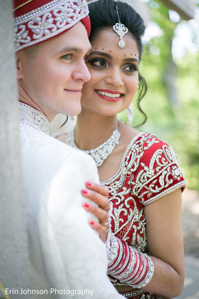 Portraits in Bloomington, MN Indian Fusion Wedding by Erin Johnson Photography