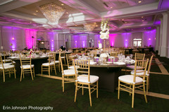 The decor at the reception!