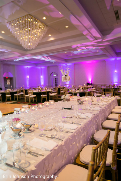 Reception Decor in Bloomington, MN Indian Fusion Wedding by Erin Johnson Photography