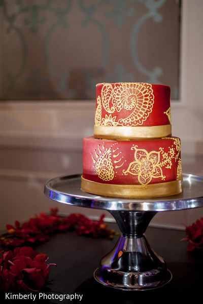Wedding Cake in Orlando, FL Indian Fusion Wedding by Kimberly Photography