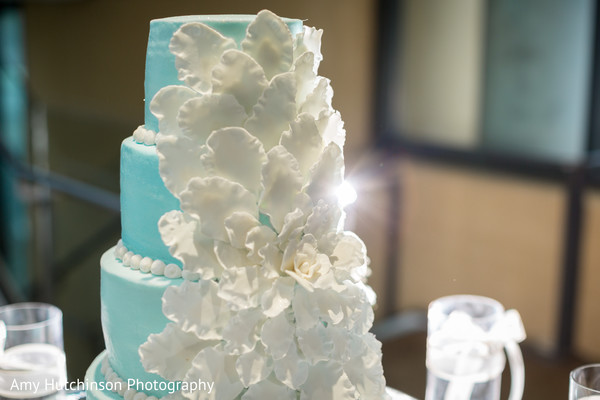 Wedding Cake in Memphis, TN Indian Wedding by Amy Hutchinson Photography