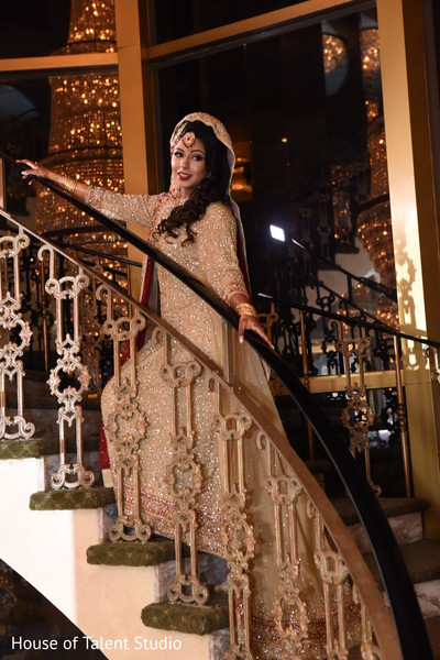 Portraits in Great Neck, NY Pakistani-Muslim Wedding by House of Talent Studio