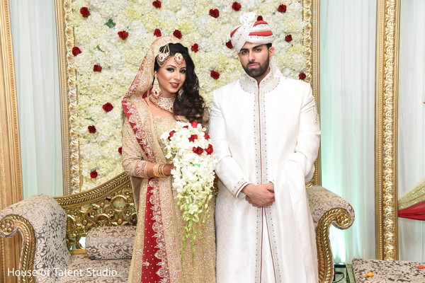 Ceremony in Great Neck, NY Pakistani-Muslim Wedding by House of Talent Studio