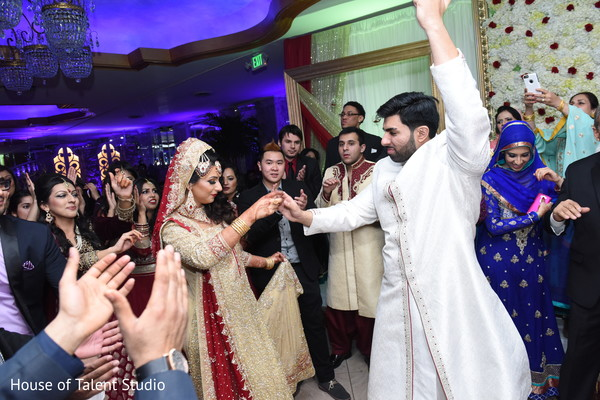 Reception in Great Neck, NY Pakistani-Muslim Wedding by House of Talent Studio