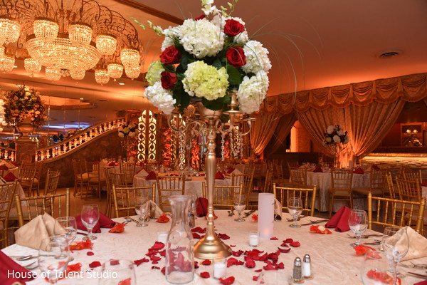 Reception Decor in Great Neck, NY Pakistani-Muslim Wedding by House of Talent Studio