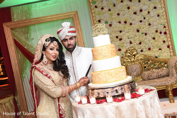 Cakes & Treats in Great Neck, NY Pakistani-Muslim Wedding by House of Talent Studio