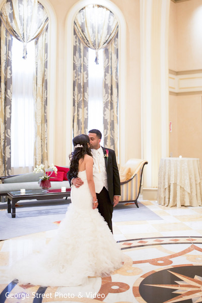 Wedding Portraits in Cedar Grove, NJ Indian Wedding by George Street Photo & Video