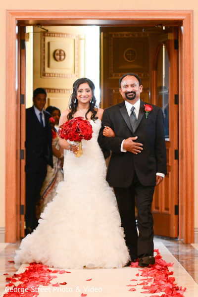 Ceremony in Cedar Grove, NJ Indian Wedding by George Street Photo & Video