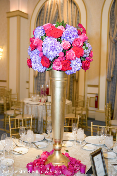 Floral & Decor in Cedar Grove, NJ Indian Wedding by George Street Photo & Video