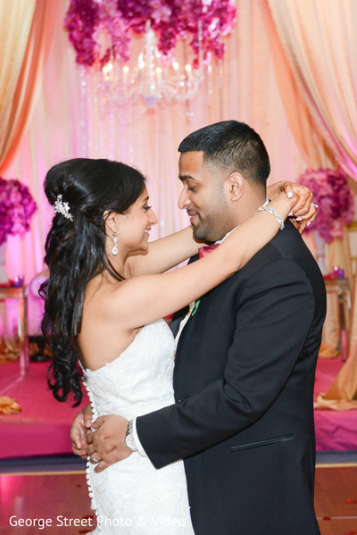 Reception in Cedar Grove, NJ Indian Wedding by George Street Photo & Video