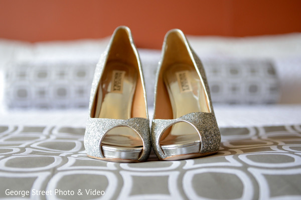 Shoes in Cedar Grove, NJ Indian Wedding by George Street Photo & Video