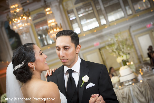 First Dance in Washington, D.C. Indian Fusion Wedding by Kathy Blanchard Photography