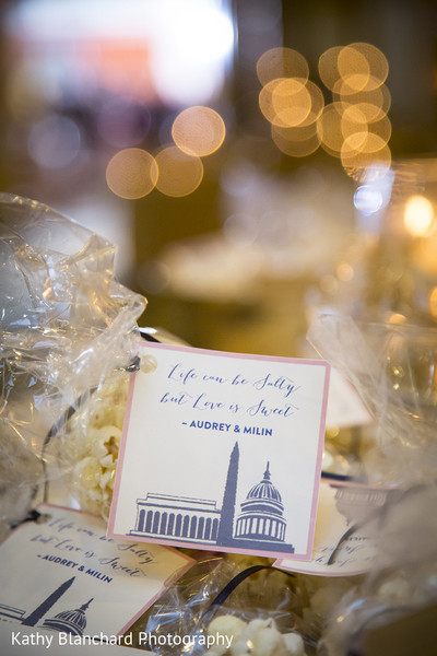 Wedding Favor in Washington, D.C. Indian Fusion Wedding by Kathy Blanchard Photography