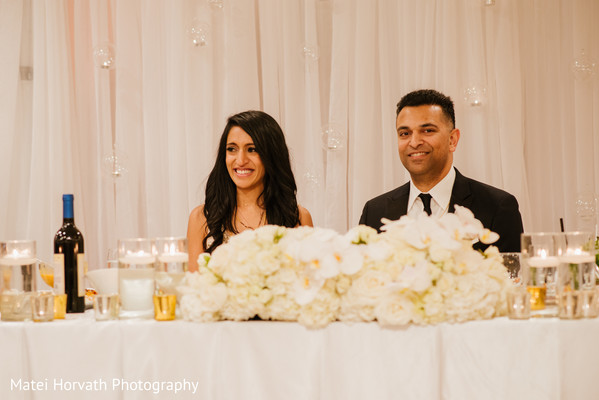 Reception in Glendale, CA Hindu-Catholic Wedding by Matei Horvath Photography