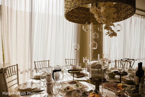 Reception Decor in Glendale, CA Hindu-Catholic Wedding by Matei Horvath Photography
